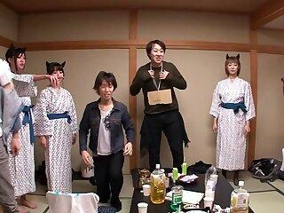 Nanami  Hirose & Uta Kohaku & Yuka Osawa in Orgy With Cute Devils In Lingerie - CosplayInJapan